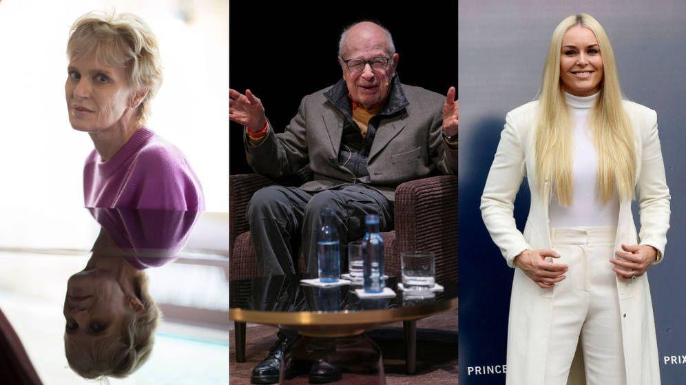 Foto: Siri Hustvedt, Peter Brook y Lindsey Vonn, tres de los Premios Príncipe de Asturias 2019. (Efe/Reuters)