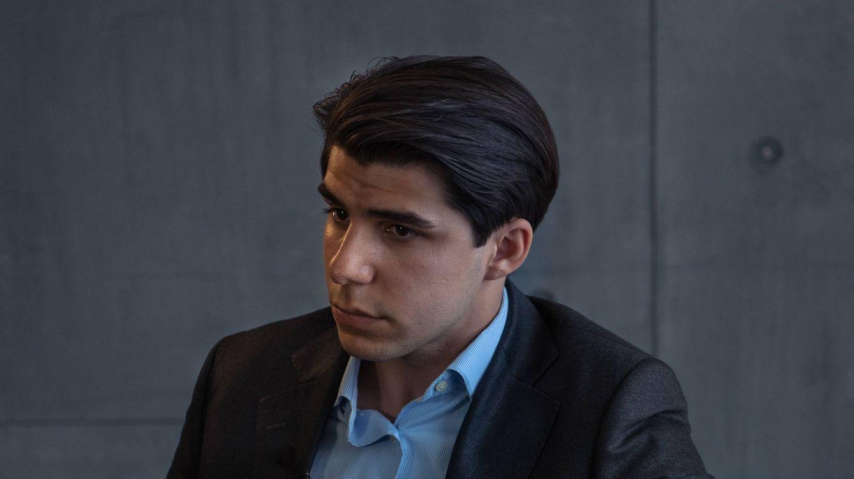 Foto: Dídac Sánchez durante la entrevista en El Confidencial. (P. López Learte)