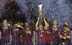El Barcelona, campeón de la Asobal con un récord histórico de goles