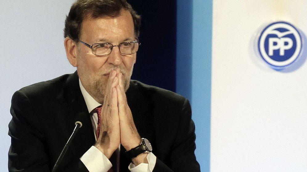 Foto: El presidente del Gobierno en funciones, Mariano Rajoy, en Alicante el pasado día 27. (EFE)