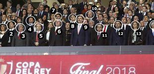 Post de Quién es quién en el palco de la final de Copa: poca política y muchos 'futboleros'