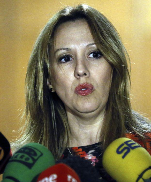 Foto: Rosa Dávila, portavoz del Ejecutivo de Canarias. (EFE)