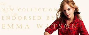 Emma Watson, solidaria con la moda de People Tree