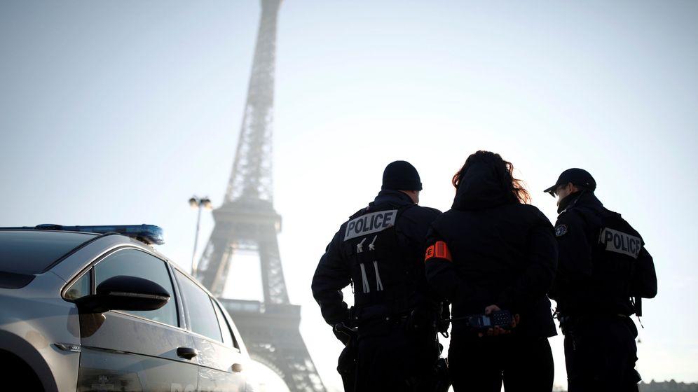 Foto: Policía de París en una imagen del archivo. (Reuters)