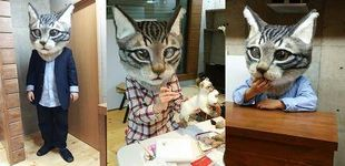 Post de El hombre que hace cabezas gigantes de gato en Japón y necesita tu ayuda