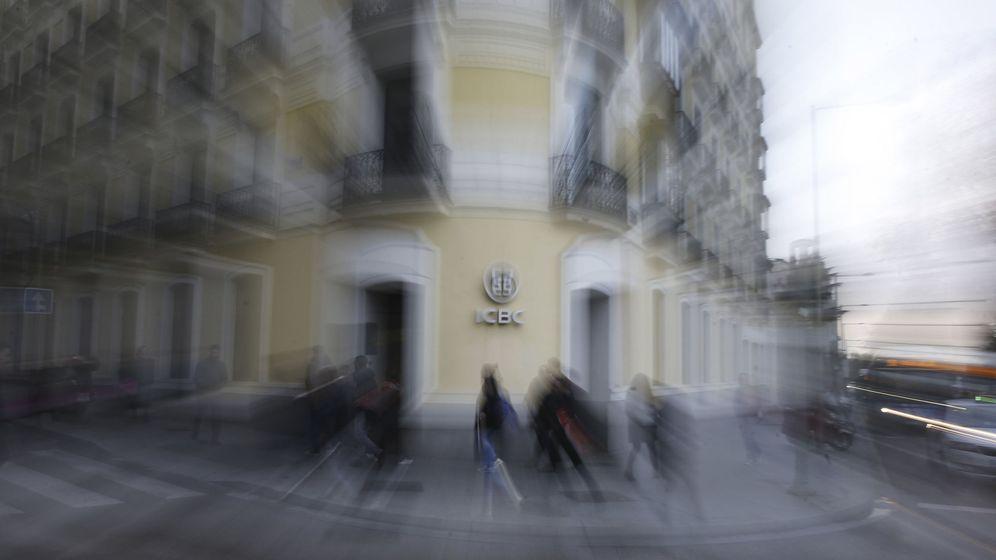 Foto: Sede en Madrid del ICBC, registrada por la Guardia Civil en febrero de 2016 (EFE)