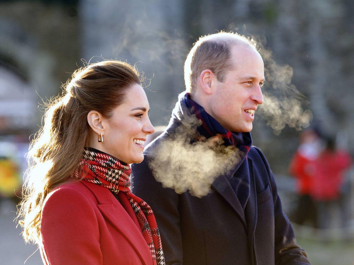 Foto: Los duques de Cambridge, durante su Royal Tour. (Getty)