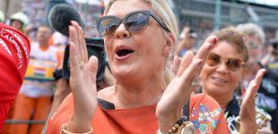 Post de El emotivo abrazo de la mujer de Schumacher a su hijo tras ganar en F2