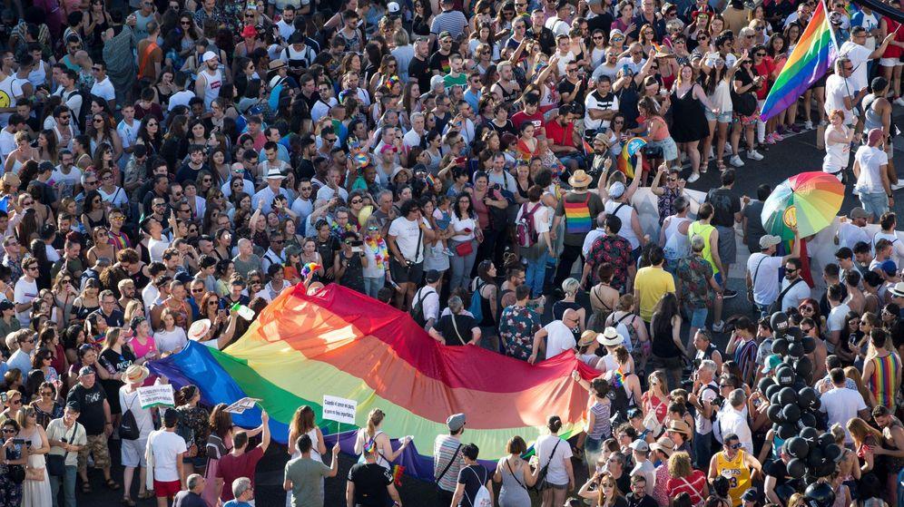 Foto: Manifestación del Orgullo 2019. (EFE)