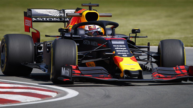 Max Verstappen durante el GP de Canadá. (EFE)