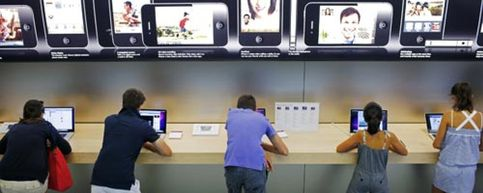 Foto: Apple también se lanza al pago por móvil en sus tiendas