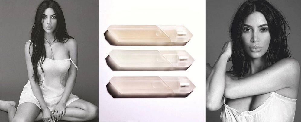 Foto: Kim Kardashian, en la campaña de sus perfumes, firmada por Mert.