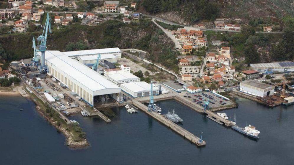 Foto: Astilleros Rodman en Vigo.