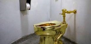 Post de Trump pide un Van Gogh al Guggenheim... y el museo le ofrece un váter de oro