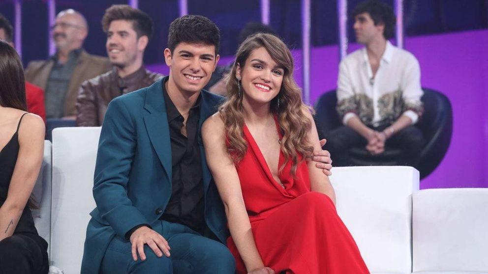 Amaia y Alfred, padrinos de 'OTVisión' en su estreno en Playz