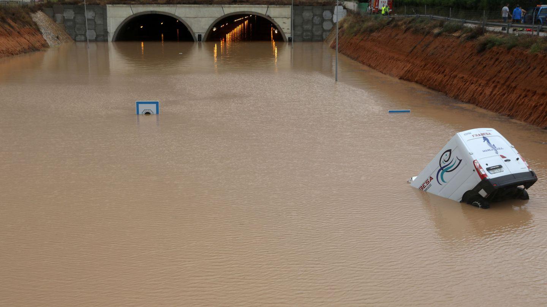 Autovía AP7 a la altura de Pilar de la Horadada. (Reuters)