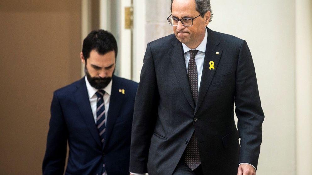 Torra amenaza con convocar elecciones ante la orden de retirarle su escaño