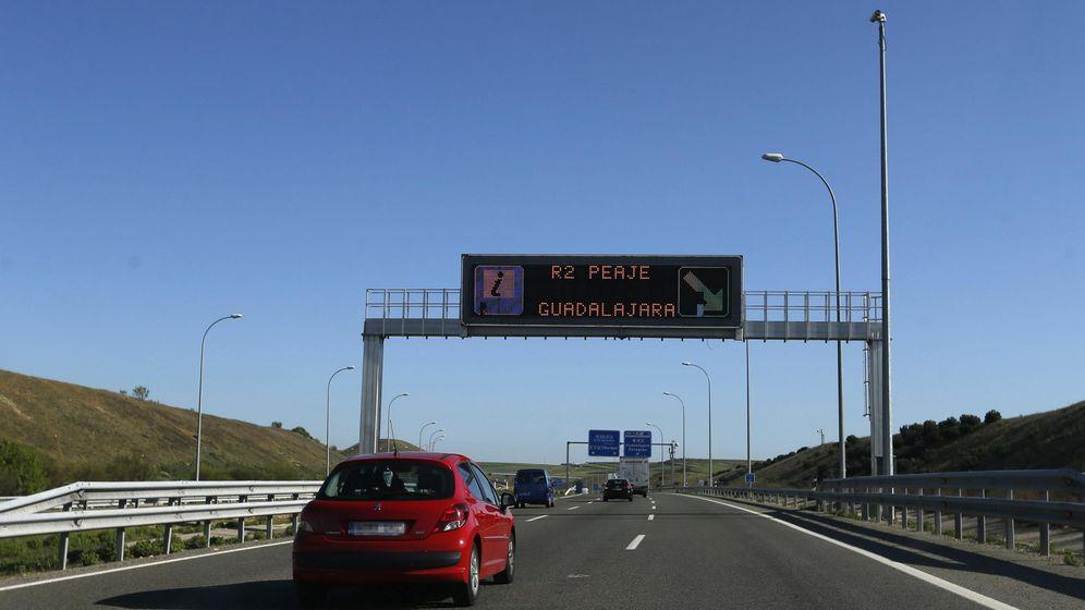 Foto: Vista de la R-2 a su paso por Madrid. (EFE)