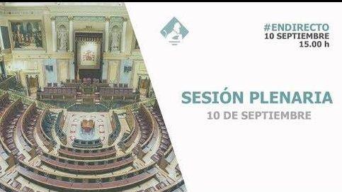Siga en directo el pleno del Congreso: eutanasia y el estatuto de Murcia en el estreno legislativo