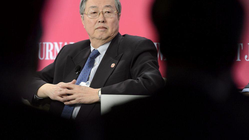 Foto: El gobernador del Banco Central de China (PBOC), Zhou Xiaochuan