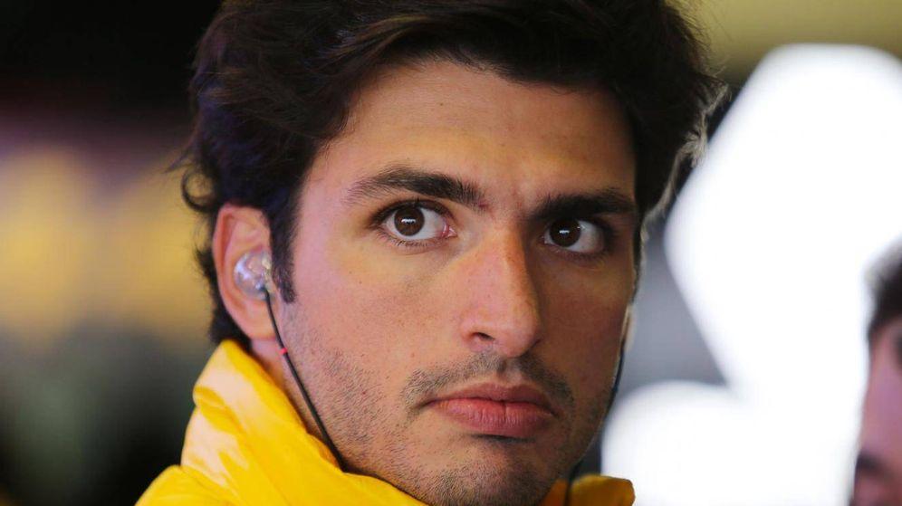 Foto: Carlos Sainz durante los entrenamientos en Montmeló.
