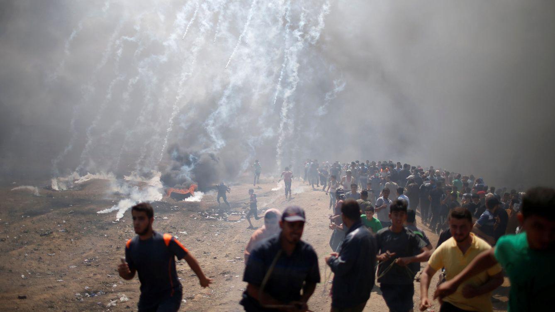 Foto: Violentos disturbios por el traslado de la embajada de EEUU a Jerusalén