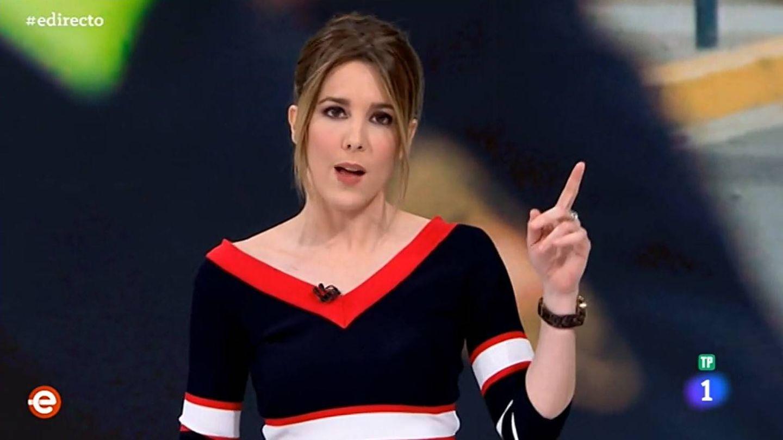 Ana Ibáñez, presentadora de 'España directo'. (TVE)