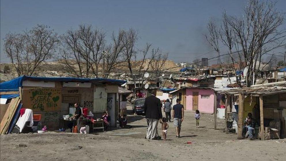 Tres toxicómanos y sus secuestros exprés en un búnker de la Cañada Real