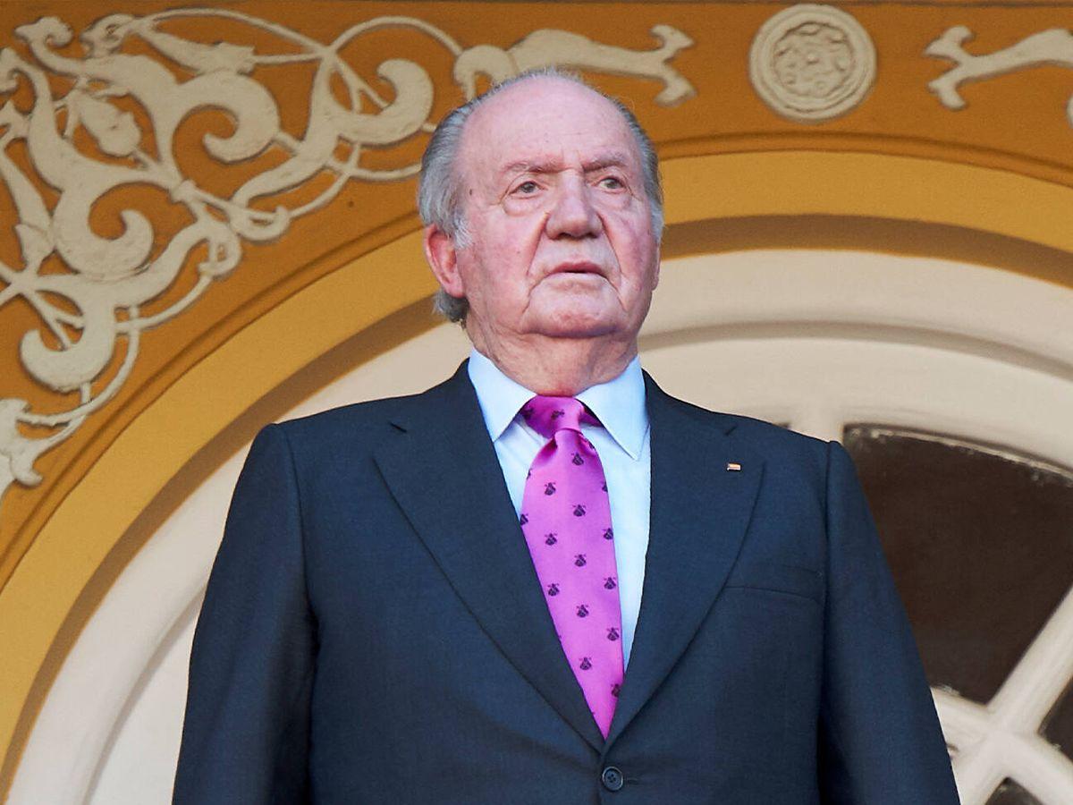 Foto: El rey emérito Juan Carlos I, en 2018. (Getty)