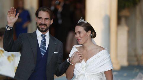 Marido y mujer (otra vez): así ha sido la boda religiosa de Philippos de Grecia y Nina Flohr