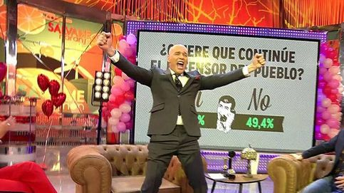 Así regresa Carlos Lozano a 'Sálvame' tras rajar de sus compañeros en el 'Deluxe'