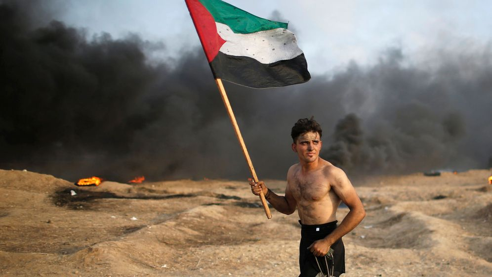 Foto: Imagen de archivo de un enfretamiento entre palestinos e israelíes. (Reuters)