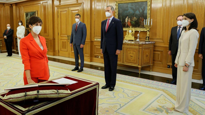 La nueva ministra de Política Territorial y portavoz del Gobierno, Isabel Rodríguez. (EFE)