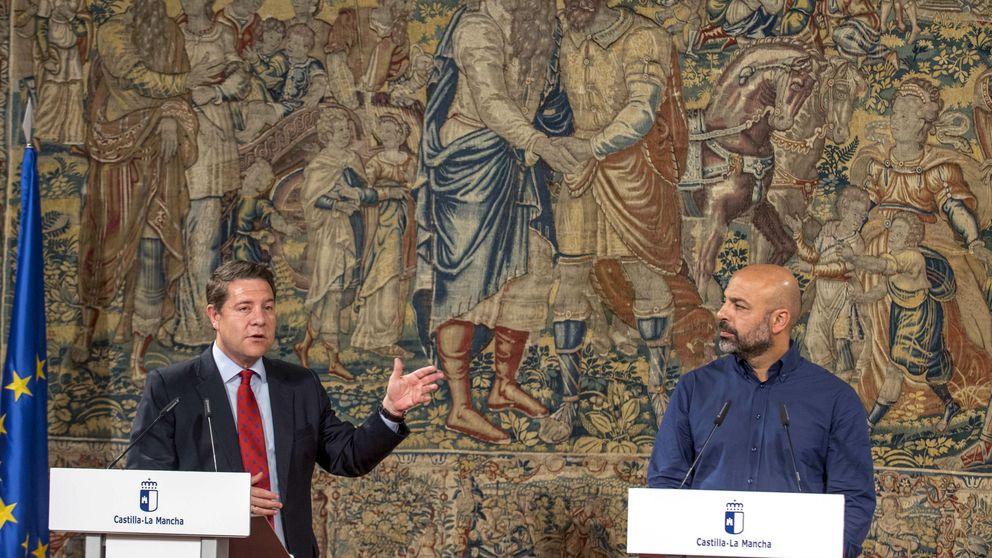 PSOE y Podemos ensayan en La Mancha su primer pacto mirando a La Moncloa