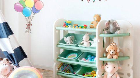 Organizadores de juguetes y libros para ordenar la habitación de tus hijos