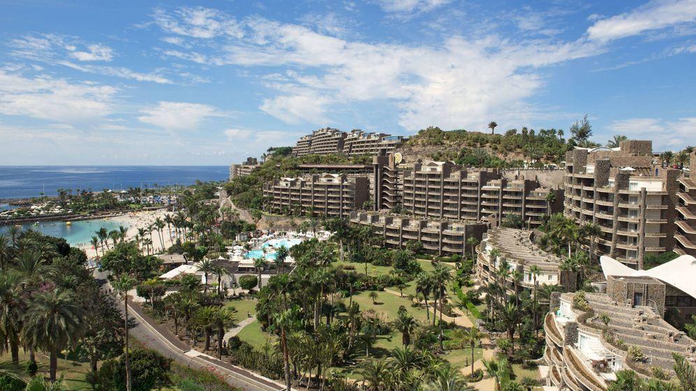 Foto: Complejo hotelero de Anfi del Mar, en Mogán (Gran Canaria).