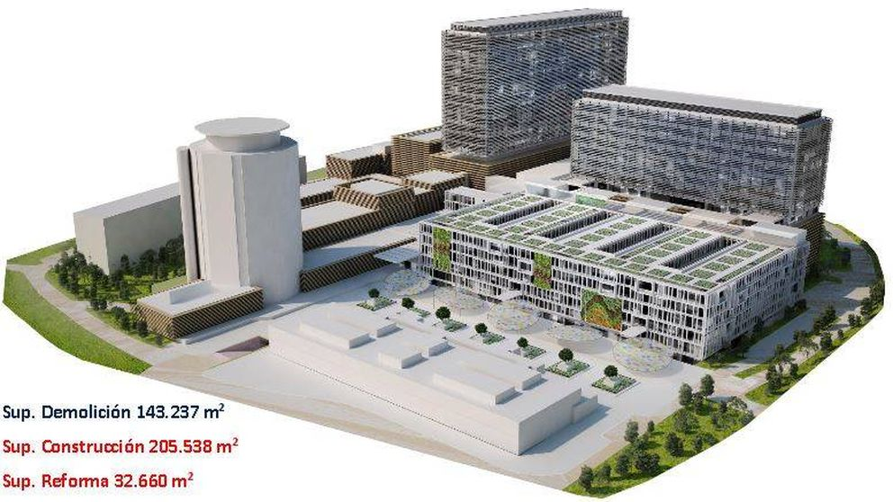 Así será el nuevo Hospital La Paz de Madrid