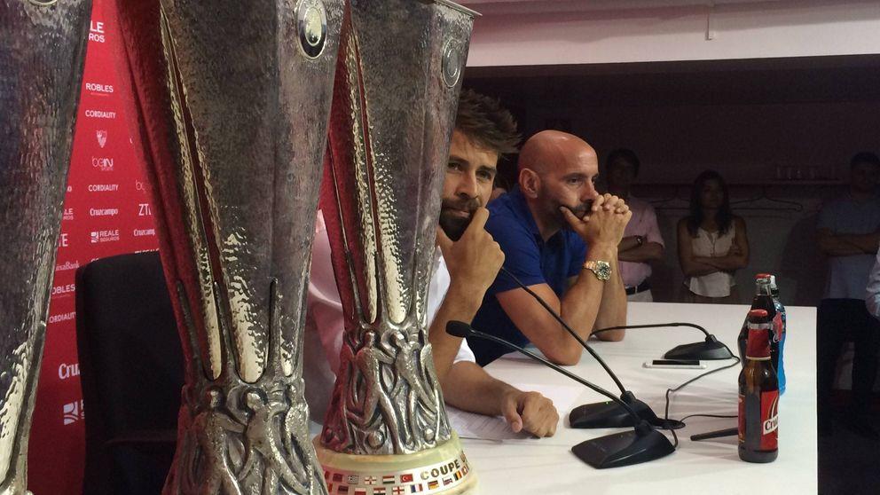 Coke llora en su adiós al Sevilla y Monchi se arrepiente: No he acertado