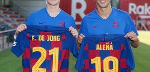 Post de La golfada del Barcelona de quitar el dorsal a Carles Aleñá para dárselo a De Jong