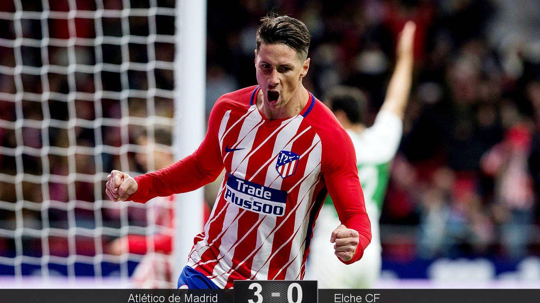 Foto: Seis meses después, marcó Torres. (EFE)