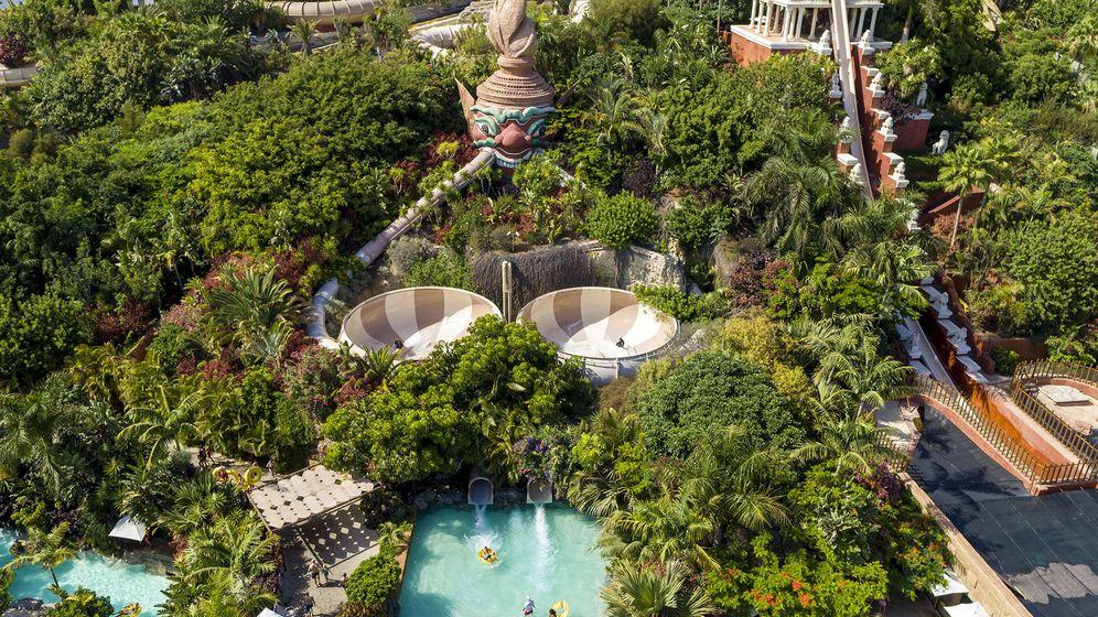 Foto: Vista general de Siam Park.