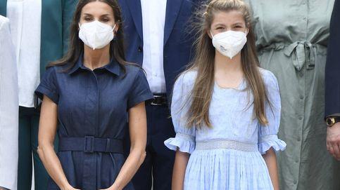 La reina Letizia deja brillar a sus hijas en Cataluña mientras ella se queda en un segundo plano