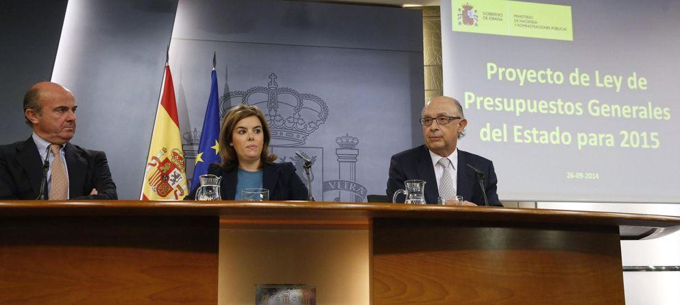 Foto: Rueda de prensa tras reunión consejo de ministros (Efe)