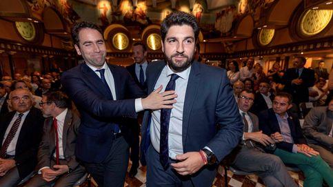 El PP se centra en salvar Murcia mientras el PSOE maniobra para atraerse a Cs