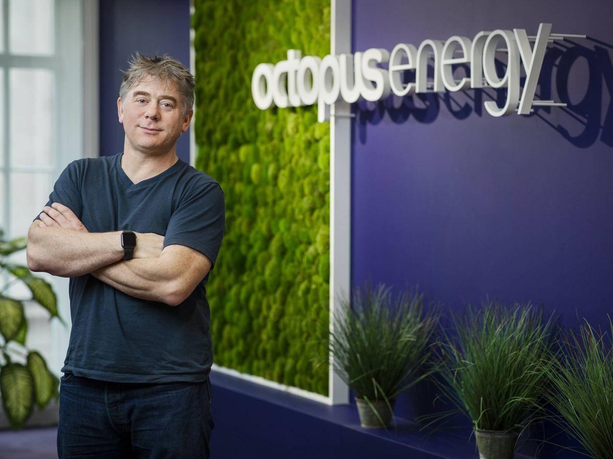 Foto: Greg Jackson, director ejecutivo de Octopus Energy.