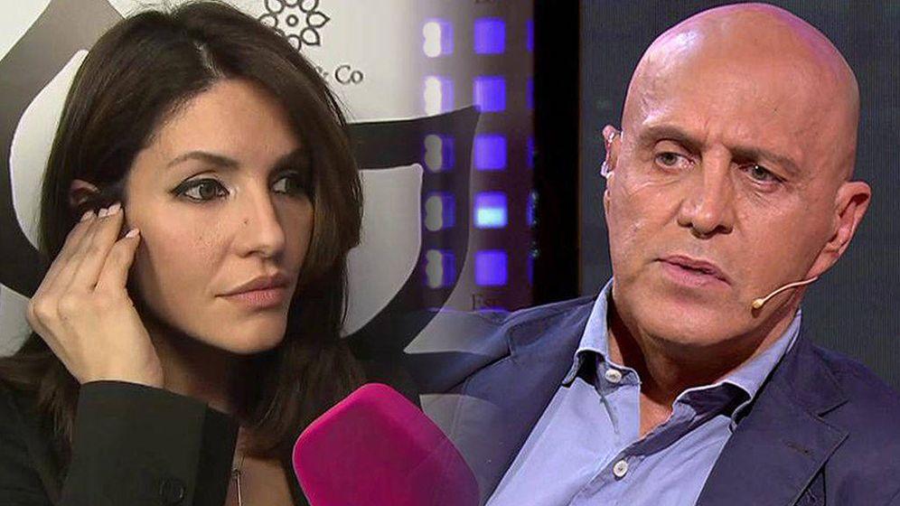 Foto: Cristina Pujol y Kiko Matamoros, en Telecinco. (Mediaset).