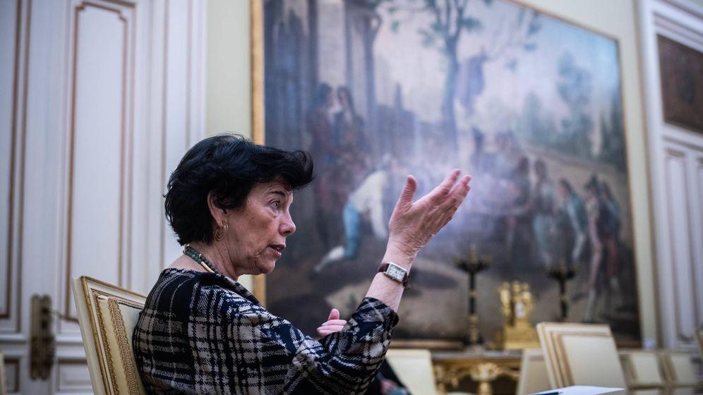 Foto: La ministra de Educación, Isabel Celaá. (Carmen Castellón)