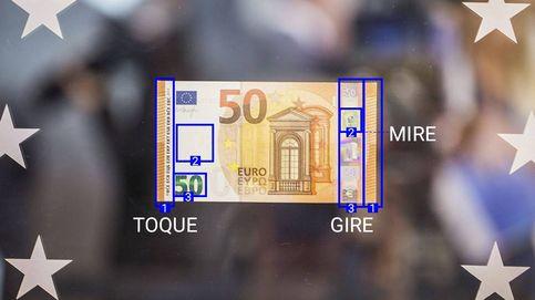 El nuevo billete de 50 euros: un retrato de Europa y letras más grandes