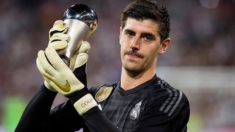 Los 'guantazos' de Courtois que han gustado dentro del Real Madrid