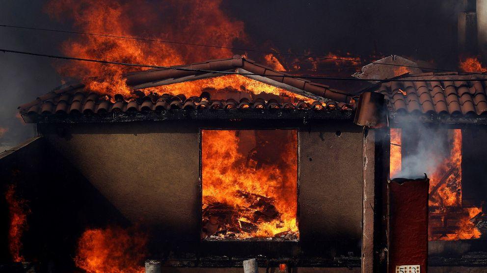 La ciudad mexicana de Tijuana, afectada por los incendios de California